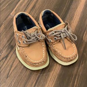 Toddler Sperrys- size 5